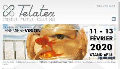 Site internet de Telatex