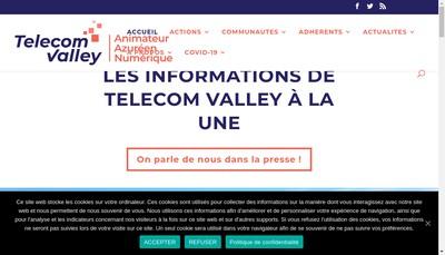 Site internet de Association Telecom Valley