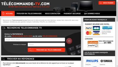 Site internet de Telecommande Express - Pro Bip