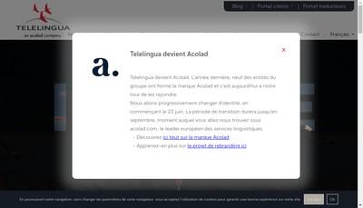 Site internet de Telelingua-Telelingua France-4T