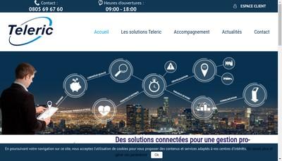 Site internet de Teleric