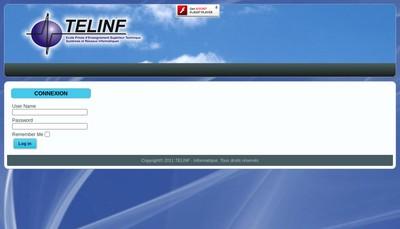 Site internet de Telinf