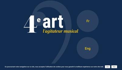 Site internet de 4Eme Art