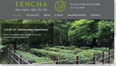 Site internet de Tencha une Autre Idee du The