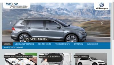 Site internet de Tendance Automobile