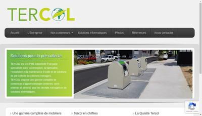 Site internet de Tercol