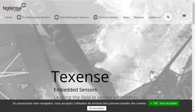 Site internet de Texys International