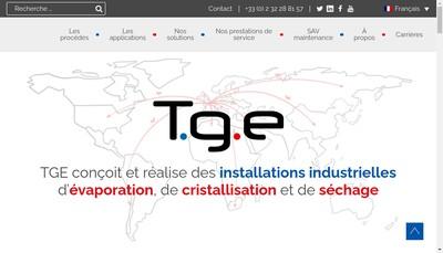 Site internet de Tge