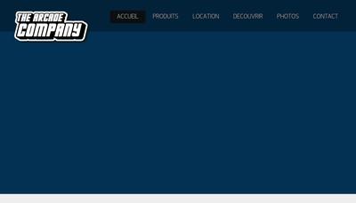 Site internet de The Arcade Company