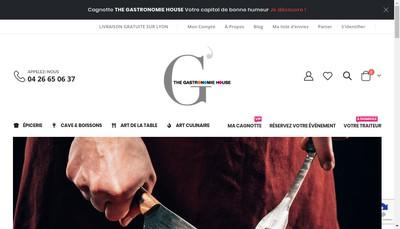 Site internet de The Gastronomie House