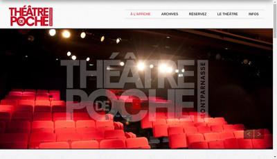 Site internet de Theatre de Poche Montparnasse