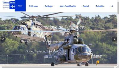 Site internet de SARL Thematronic