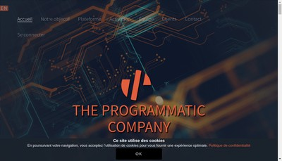 Site internet de The Programmatic Company