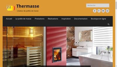 Site internet de Thermasse - Coeur de Foyer