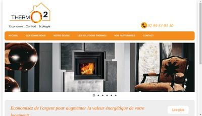 Site internet de Thermo2
