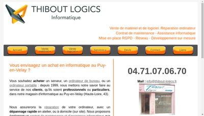 Site internet de Thibout Logics Informatique