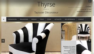 Site internet de Thyrse