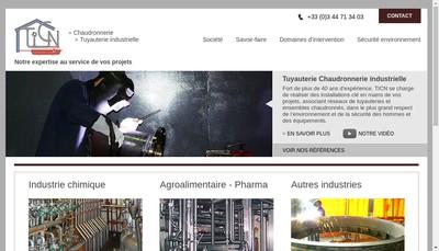 Site internet de TICN