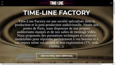 Site internet de Time-Line Factory