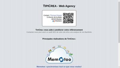 Site internet de Memotoo