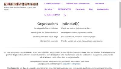 Site internet de Tmc Thierry Merle Consultant