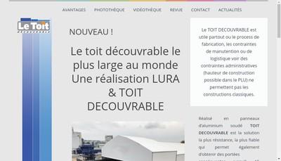 Site internet de SARL Denis Oudin