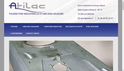 Site internet de Atilac