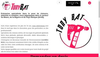 Site internet de Tony Bat