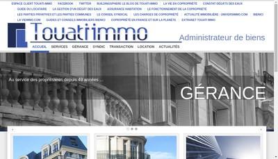 Site internet de Cabinet Emmanuel Touati SARL