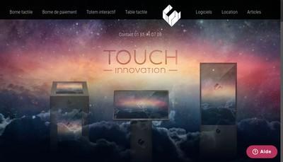 Site internet de Touch Innovation