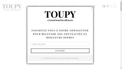 Site internet de Toupy