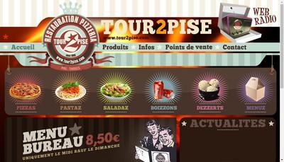 Site internet de La Tour 2 Pise