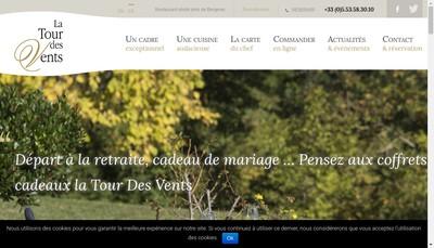Site internet de La Tour des Vents