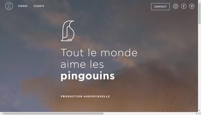 Site internet de Tlmalp - Tout le Monde Aime les Pingouins