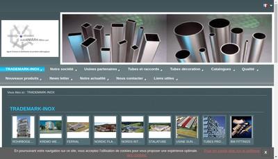 Site internet de Trademark Inox