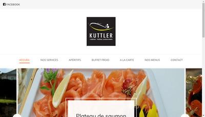 Site internet de Cuisiniers Traiteurs Kuttler