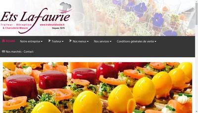 Site internet de Lafaurie Traiteur-Charcutier