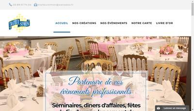 Site internet de Traiteur Simon SARL