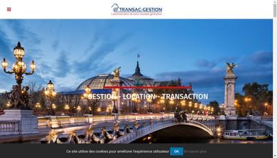 Site internet de Transac-Gestion