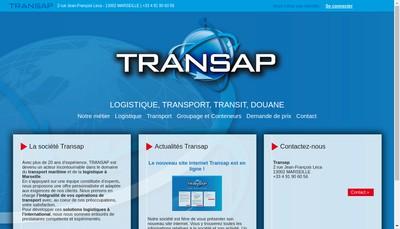 Site internet de Transap