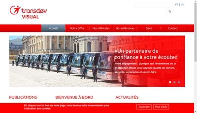 Site internet de Visual
