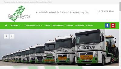 Site internet de Trans Lyre
