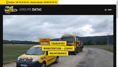 Site internet de Datac