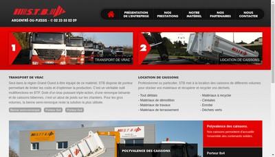 Site internet de Societe Transports Bonnan
