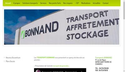 Site internet de Bonnand Management
