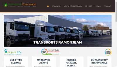 Site internet de Bstp Transports