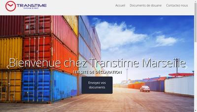 Site internet de Transtime