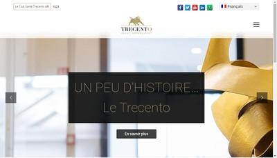 Site internet de Trecento Asset Management
