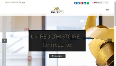 Site internet de Trecento