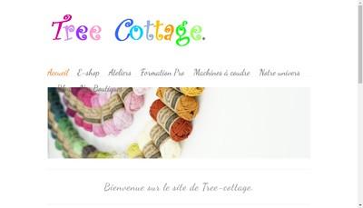 Site internet de Tree Cottage